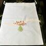 Forgetmenot flower Laundry bag